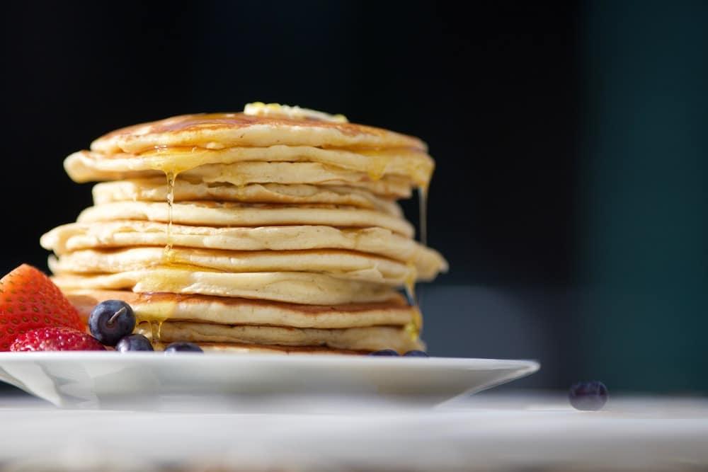 Immer ein geniales Frühstück: Vegane Pfannkuchen